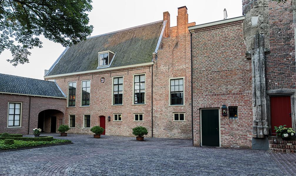 Duitse Huis aan de Springweg in Utrecht