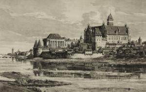 De Marienburg in Pruisen